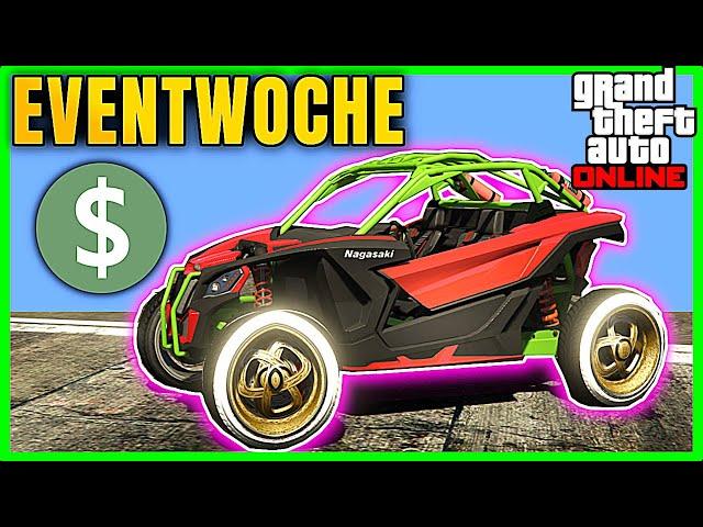 Neue Eventwoche : Geldreich - GTA 5 Online Deutsch