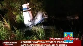 Autoridades investigan intento de robo de avión en aeropuerto Arroyo Barril de Samaná