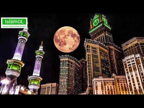 Supermoon di Ka'bah Mekah dan Dahsyatnya Malam Lailatul Qadr