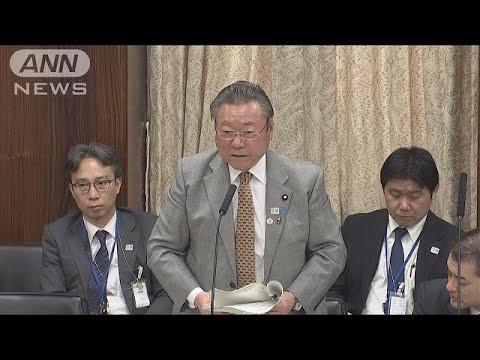 桜田大臣ちぐはぐ答弁 聞いた蓮舫議員はあきれ顔(18/11/27)