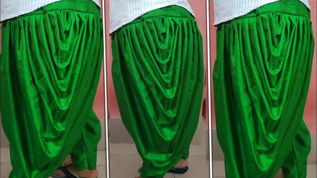 Download এতো সহজ ধুতি সালোয়ার কাটিং এবং সেলাই / Dhoti Salwar Cutting And Stitching / how to make dhoti pajama