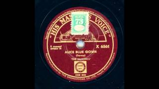 THE HOTCHAS - ALICE BLUE GOWN