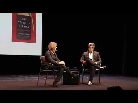 FIAF Talk: Esther Perel in conversation with Anand Giridharadas