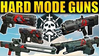 Destiny: ALL Hard Mode Raid Weapons! | Gameplay & First Impressions | Wrath of the Machine