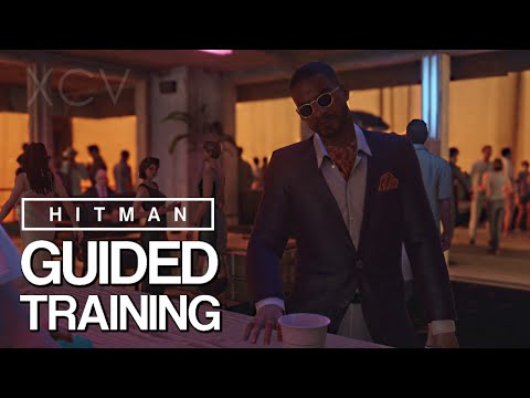 Hitman BETA Gameplay - 'Guided Training' Tutorial Mission Playthrough [HD] 1080p   PS4 PC