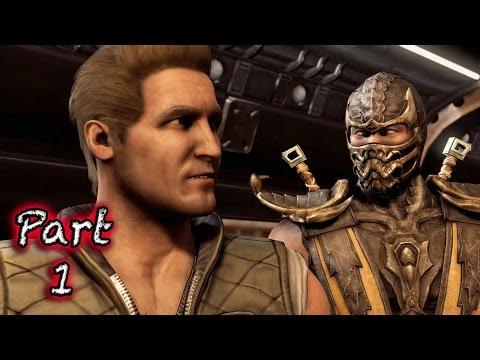 Mortal Kombat X PS4 Gameplay Walkthrough Part 1 - Intro!!