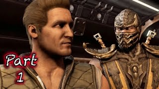 Mortal Kombat X PS4 Gameplay Walkthrough Part 1 - Intro!!