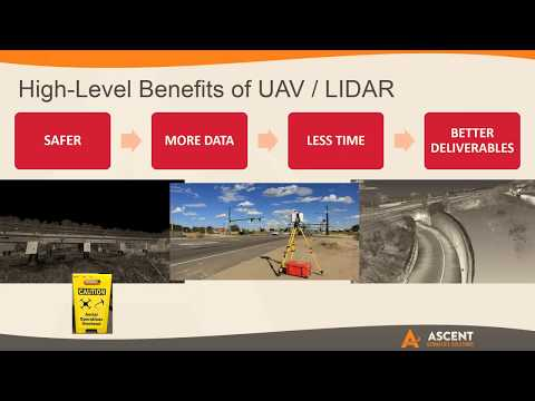 Benefits of UAV and LiDAR in Civil Infrastructure