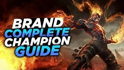 Supporting with Fire! - Pre-Season 9 Brand Guide! - League of Legends