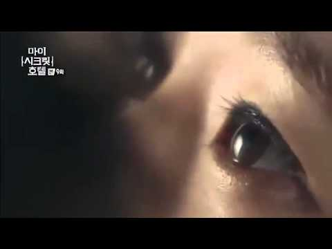 My Secret Hotel - Nam Sang Hyo and Jo Sung Gyeom kiss scene