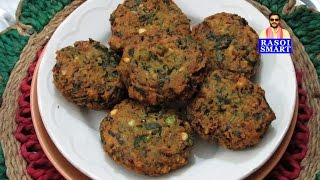 Basale Soppina Vade  Malabar Spinach Fritters -  another delight from Malnad region of Karnataka