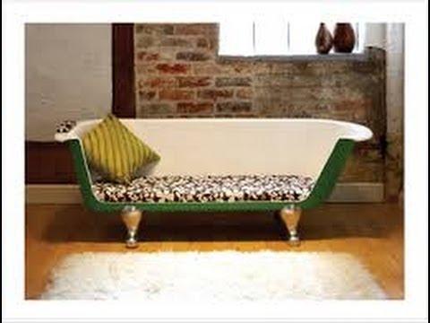 Como hacer muebles reciclados 1 youtube - Muebles reciclados vintage ...