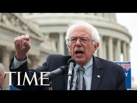 Bernie Sanders & Other Senators Launch Universal Healthcare Legislation: Medicare For All | TIME