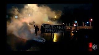 Свободу Азату Мифтахову!  Акция активистов бессрочного протеста напротив ИВС Войсковское