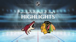 ОБЗОР МАТЧА HD АРИЗОНА - ЧИКАГО | COYOTES vs. BLACKHAWKS | OCTOBER 21, 2017 | NHL REGULAR SEASON