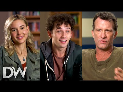 RUN HIDE FIGHT Cast Interviews | Isabel May, Eli Brown, Thomas Jane