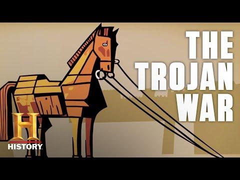 Drawn History: The Trojan War   History