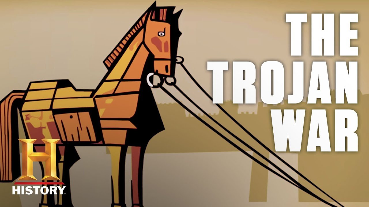 trojan war outline