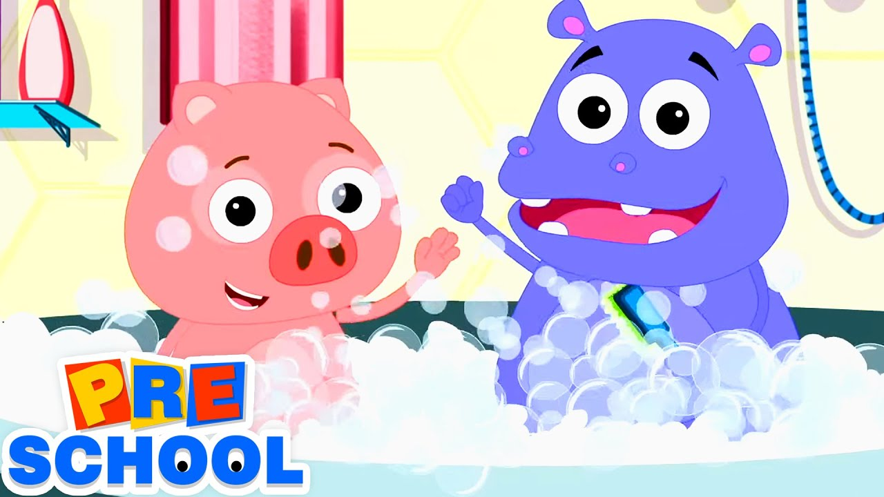 Bath Time Song | Nursery Rhymes and Kids Songs | Children Song For Babies
