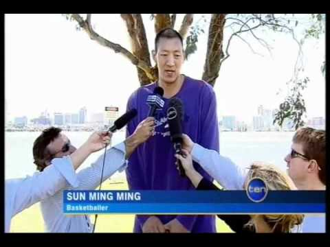 Sun Ming Ming Arrives In Perth 16.9.10