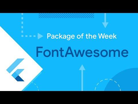 font_awesome_flutter (Flutter Package of the Week)