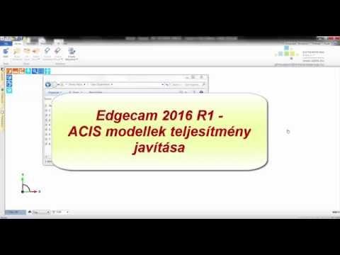 Edgecam 2016 R1 | ACIS modellek  - Többszörös előfordulás teljesítményjavító javítása