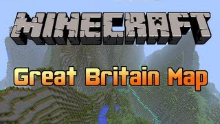 Minecraft - Ordnance Survey Great Britain Map