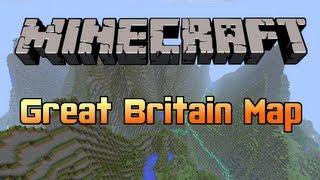 Minecraft - Ordnance Survey Great Britain Map