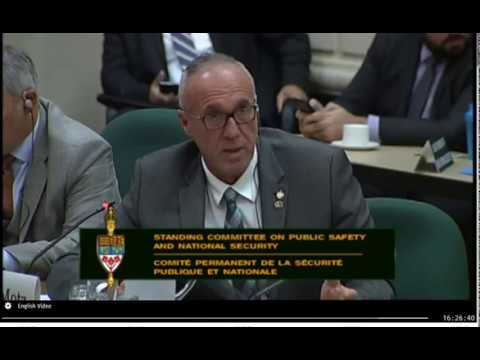 2018-09-27 : Standing Committee on Public Safety and National Security