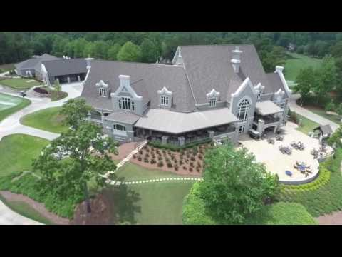 A bird's-eye view of Greystone and the 2016 Regions Tradition