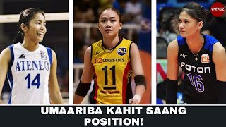 TOP 5 Best All-Around Women's Volleyball Players in the Philippines (HD)