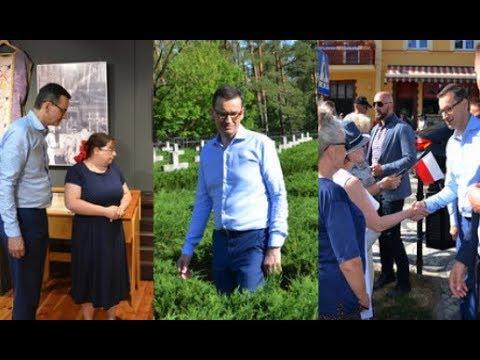 Wizyta Premier W Nakle, Paterku I Potulicach