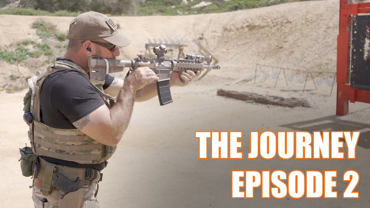 """Download The Journey Ep. 2:  Intro to Carbine with Navy SEAL Mark """"Coch"""" Cochiolo"""