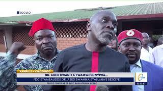 Dr. Abed Bwanika Twamwesonyiwa… Fdc Eyambalidde Dr. Abed Bwanika Eyalumbye Besigye