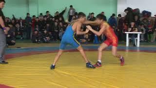 Спорт. Греко-римская борьба. Первенство Кыргызстана среди кадетов-2018. Часть 1