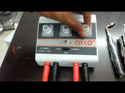 AMP-03CM05A acco Combo Tens and  MUSCLE STIMULATOR