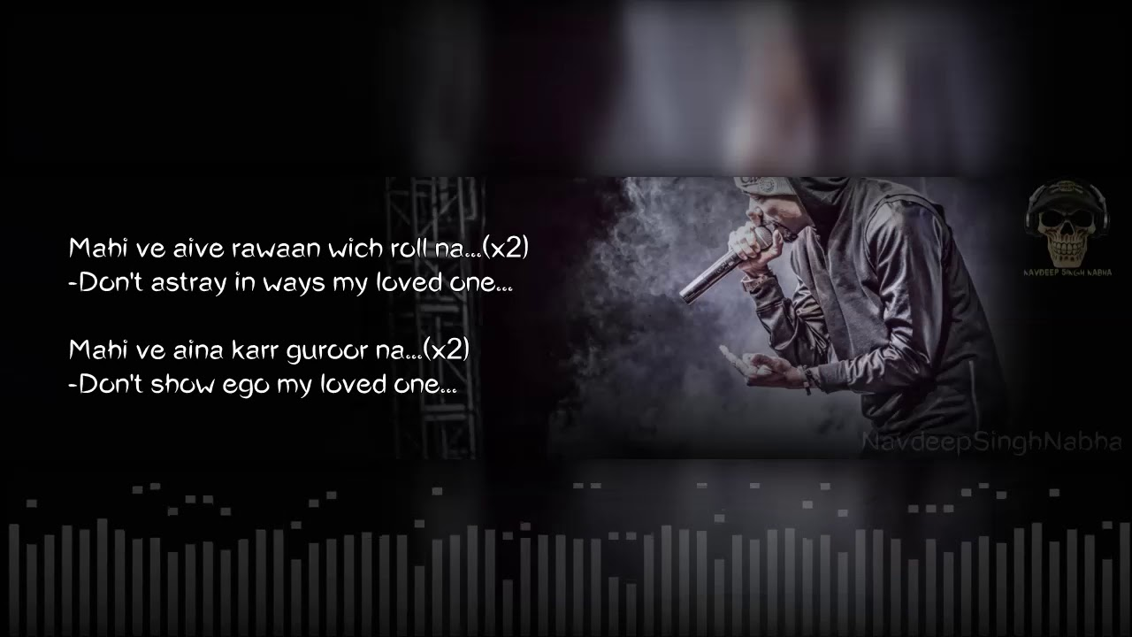 BOHEMIA English Translation - HD Lyrics of 'Dil' By