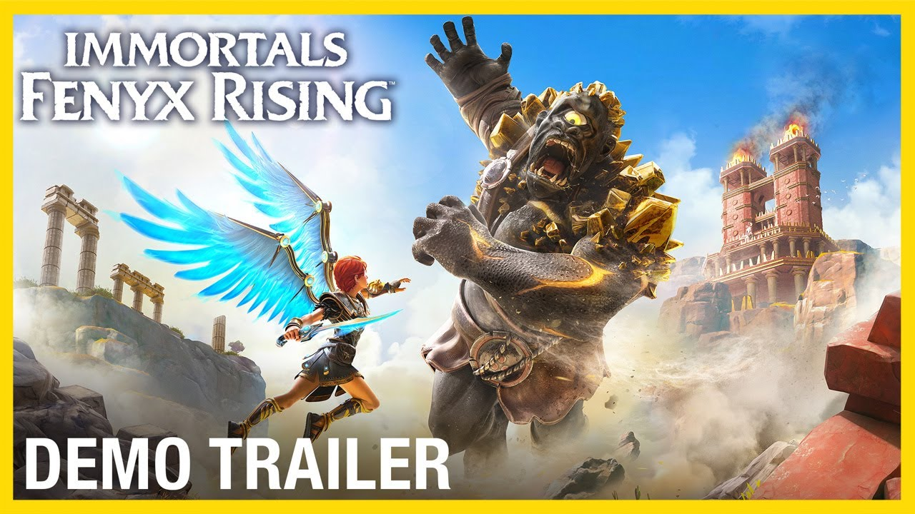 Immortals Fenyx Rising: Free Demo Trailer | Ubisoft