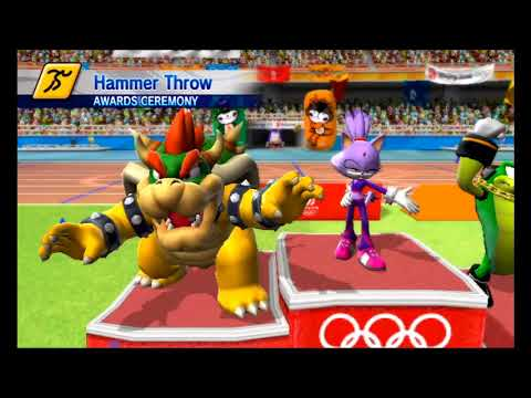 Mario & Sonic at The Olympic Games (Beijing 2008) - Single Match - Athletics - All Field Events
