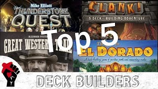 Top 5 Deck Builders