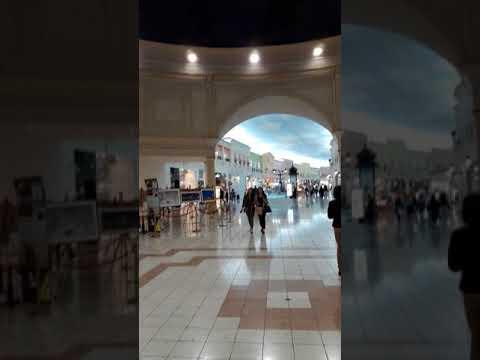 Звуковой купол в Villagio Mall.Doha, Qatar.