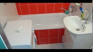 Ремонт ванной в панельной пятиэтажке.