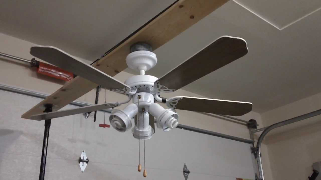 "42"" Hampton Bay Florentine Ceiling Fan"