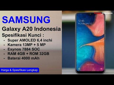 Resmi ! Samsung Galaxy A20 Indonesia   Spesifikasi Lengkap
