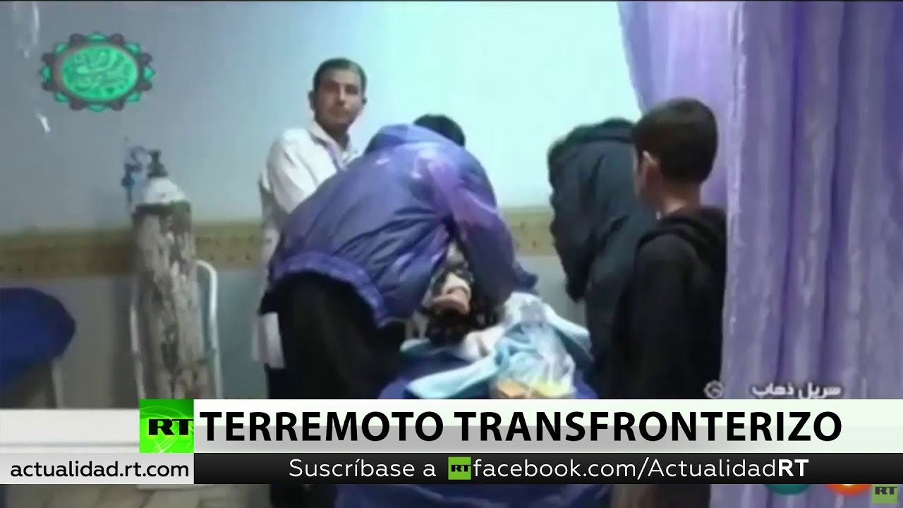 Un terremoto en la frontera entre Irán e Irak deja más 700 heridos