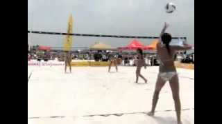 Bethany Taylor & Emily Taylor - USAV/Dig The Beach Clearwater Tournament 6/3/2012