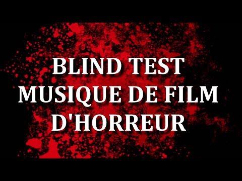 BLIND TEST  MUSIQUE DE FILM  D' HORREUR (40 EXTRAITS) - AVEC RÉPONSE