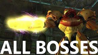 Metroid Prime 2: All Bosses and Ending (4k 60fps)