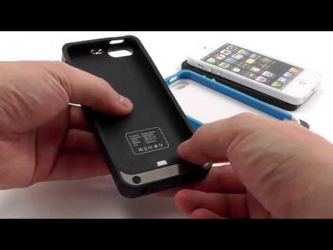 Чехол - Аккумулятор для iPhone 5 (2200 mAh). Видеообзор - Тест от Электробума