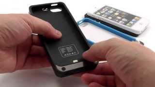 Чехол - Аккумулятор для iPhone 5 (2200 mAh). Видеообзор - Тест от Электробума(СПАСИБО ЗА ПОДПИСКУ!!! Цена и наличие: http://elektroboom.com.ua/iphone-5/chexol-akkumulyator-dlya-iphone-5-2200-mah.html Мощный и элегантный ..., 2013-06-04T13:23:11.000Z)